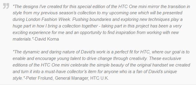 HTC One Mini Edisi khusus Hanya Diproduksi 10 Unit