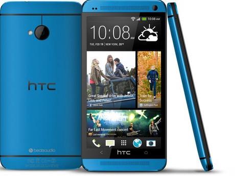 HTC One Tampil Baru dengan Warna Biru Metalik
