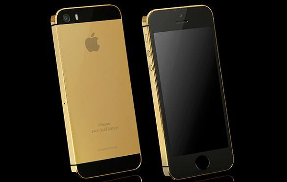 Harga iPhone 5s Edisi Emas 24 Karat Dibanderol Mulai $2.853