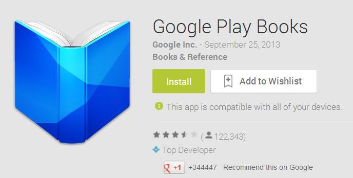 Kini Google Play Books Tersedia Untuk Indonesia