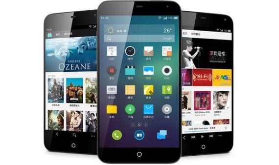 Meizu MX3, Smartphone Berprosesor Exynos 5 Octa dan Memori 128GB