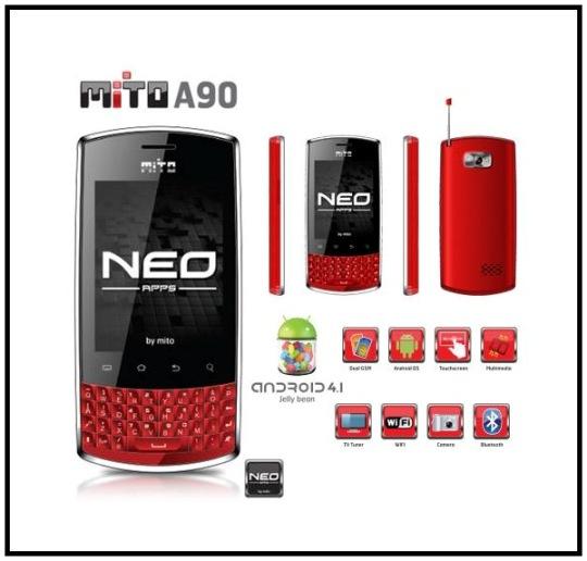 Mito A90, Ponsel Android Murah Harga 500 Ribuan