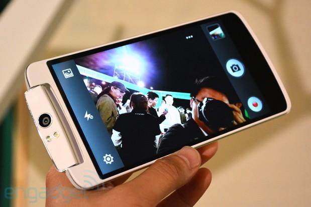 Oppo N1 Smartphone Gahar Dengan Kamera 13 MP Yang Dapat Diputar