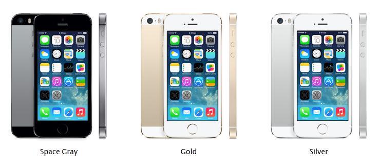 Spesifikasi Detail iPhone 5S