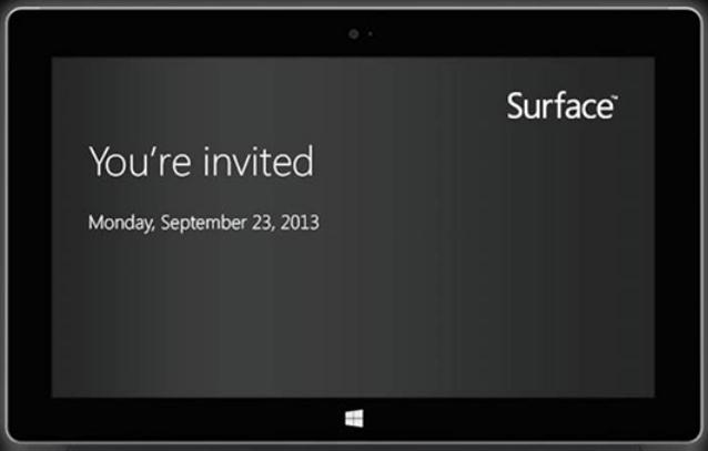 Tablet Surface Terbaru Microsoft Diluncurkan 23 September 2013