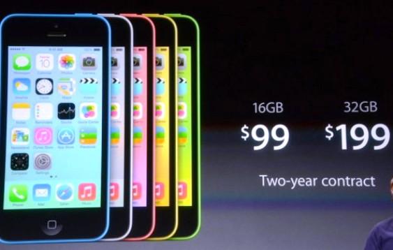 Harga iPhone 5C dan iPhone 5S di Amerika Serikat Sangat Murah