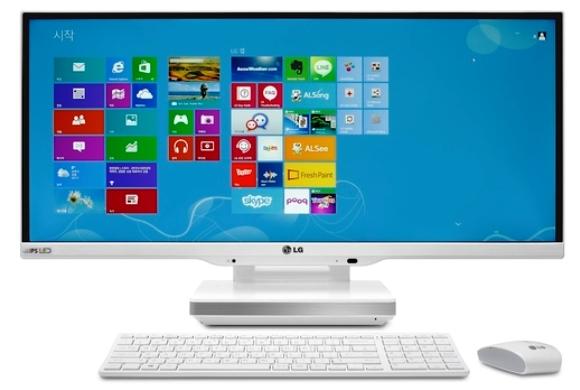LCD LG New AIO PC 29inci UltraWide Display Dipamerkan di IFA 2013 Berlin