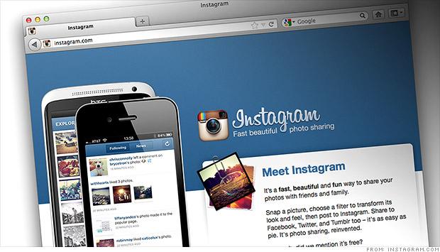 Akhirnya Iklan Mucul di Instagram