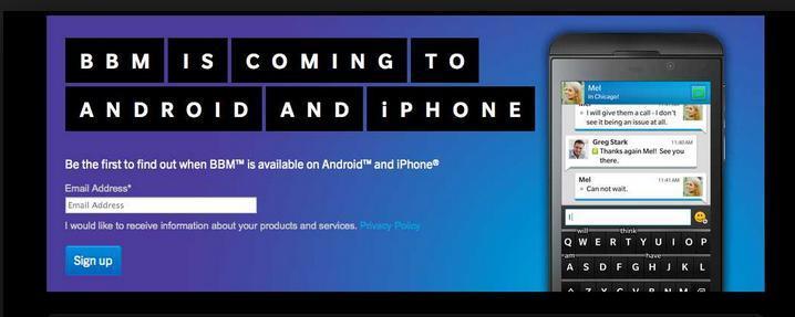 BBM untuk Android Beta Kembali diluncurkan dengan UI Baru