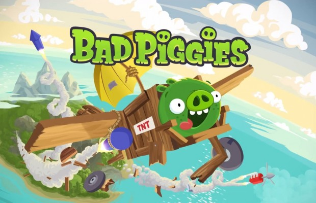 Bad Piggies  for blackberry
