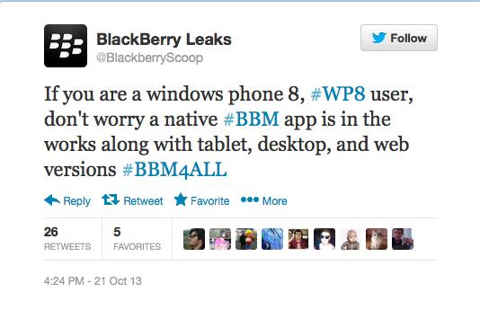 Benarkah BBM Untuk Windows Phone Segera Dirilis