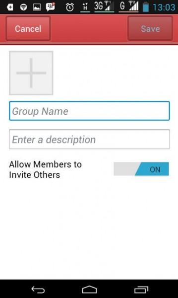 Cara Bikin Grup di BBM Android