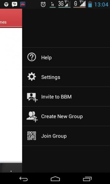 Cara Buat Grup di BBM Android