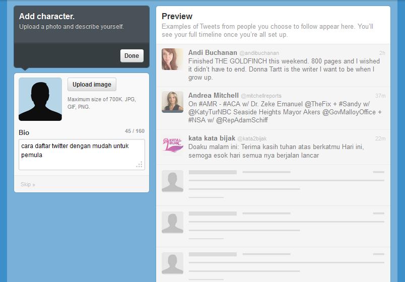 Cara Daftar Twitter6