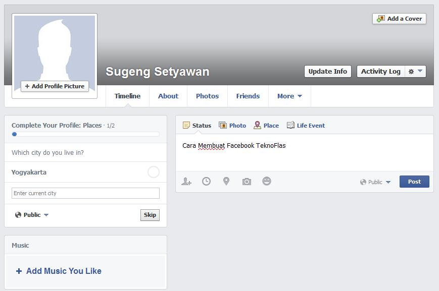 Cara Membuat Facebook7