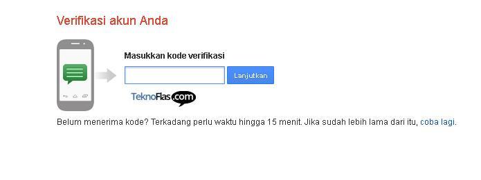 Cara daftar email Untuk Login Google Play