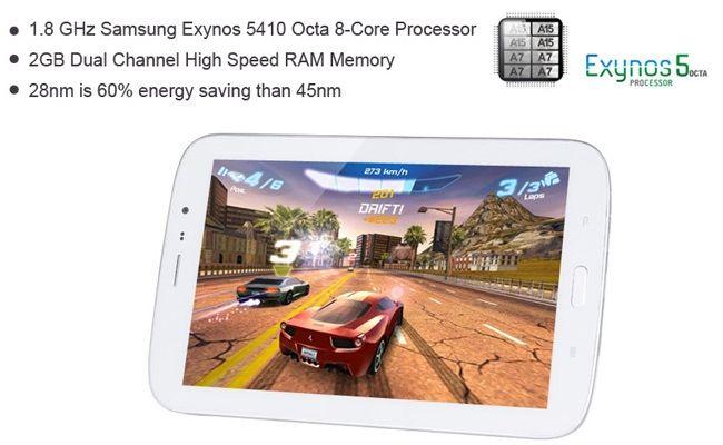 GooPad N8, Kloning Galaxy Tab 3 Dengan layar 8 inchi ber CPU 8 Core