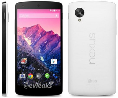 Inikah Foto Google Nexus 5 Putih