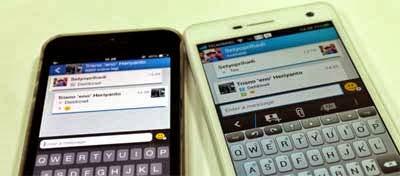 Inilah Beda Fitur BBM di Android dan iOS