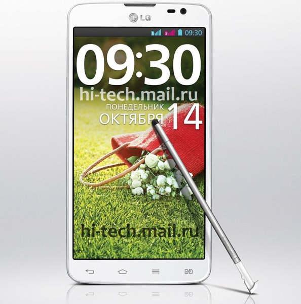 LG G Pro Lite Dual dibekali Stylus