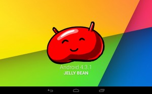 Nexus 7 LTE Mendapatkan Update Android 4.3.1