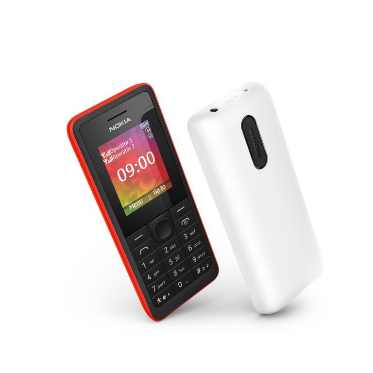 Nokia 107, Ponsel Dual SIM Murah Harga 200 Ribuan