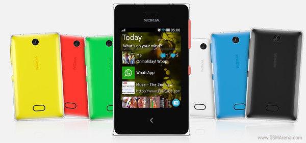 Nokia Asha 500, 502, 503 Ponsel Terbaru Nokia Resmi Dirilis