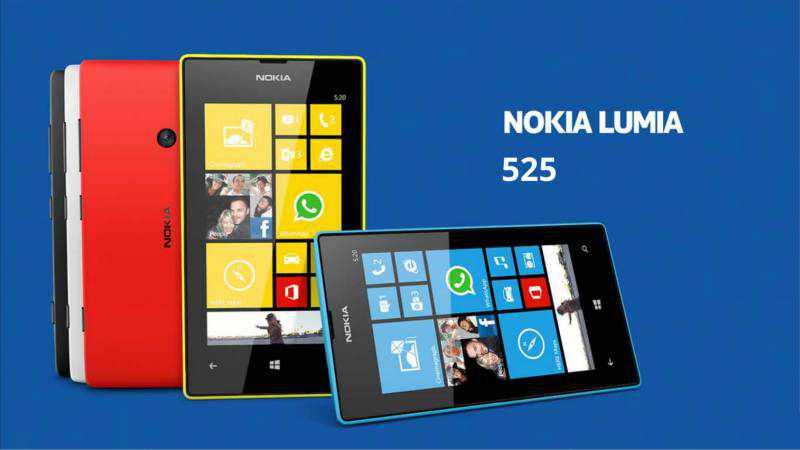 Nokia Lumia 525 Glee Penerus Lumia 502