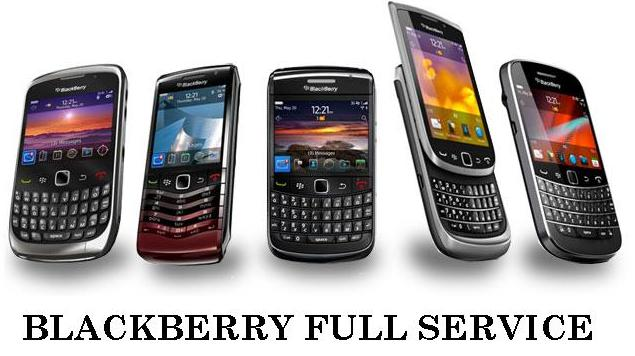 Paket BlackBerry Full Service