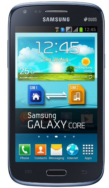 Samsung Galaxy Core Duos, Ponsel Android Dual SIM