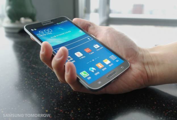 Samsung Galaxy Round Resmi Dirilis, Ponsel Android Layar Lengkung Pertama