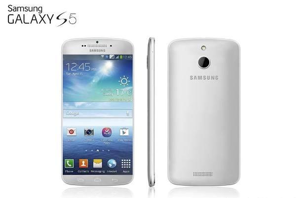 Samsung Galaxy S5 ilustrasi