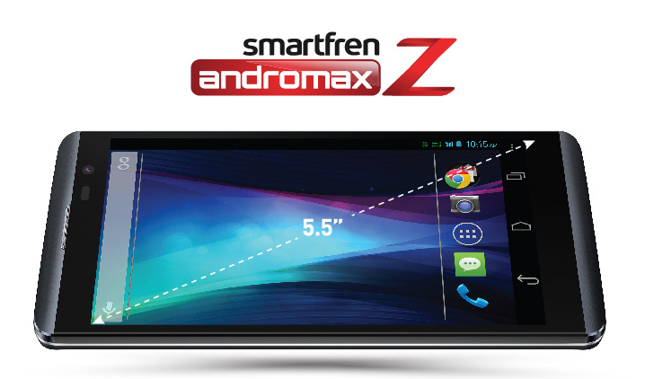 Smartfren Andromax Z, Lebih Besar Lebih Hebat