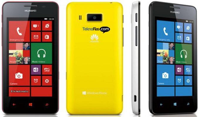 Windows Phone Huawei Ascend W2 Meluncur Bulan Ini, Harga Rp 3,1 Jutaan