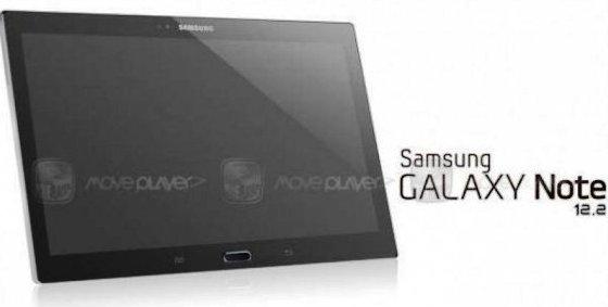 Wujud Tablet Samsung Galaxy Note 12.2 Mulai Terkuak