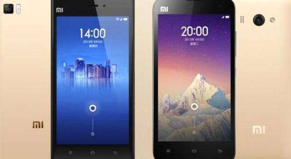 Xiaomi Hadirkan Smartphone Mi3 dan Mi2S dalam Varian Warna Emas