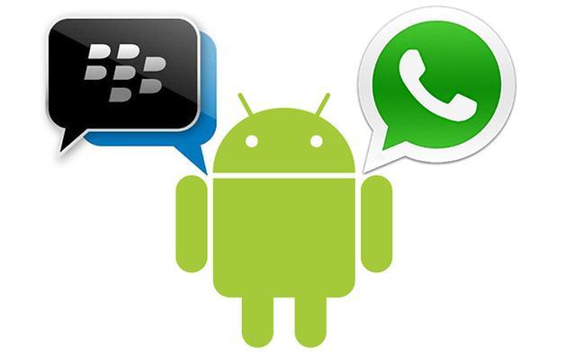 BBM Android vs Whatsapp