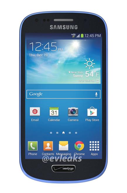 Benarkah Samsung Galaxy SIII Mini Warna Biru Dirilis