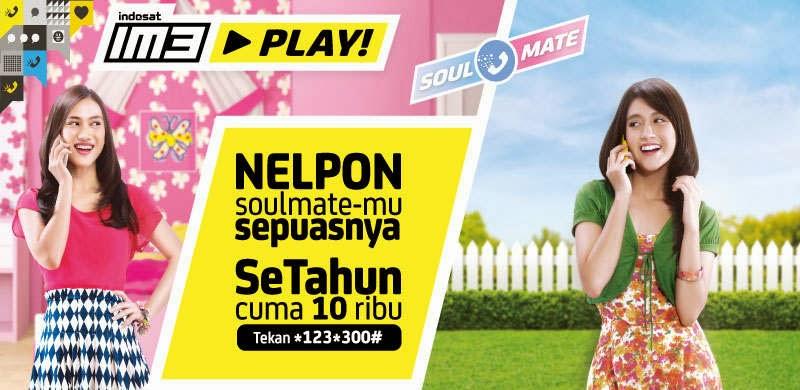 Cara Daftar IM3 Play Soulmate, Nelpon Setahun Cuma Rp10 Ribu