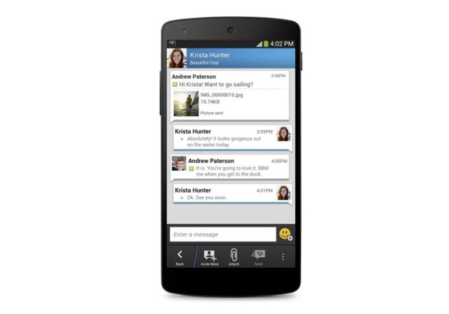 Fitur Terbaru Update BBM for Android