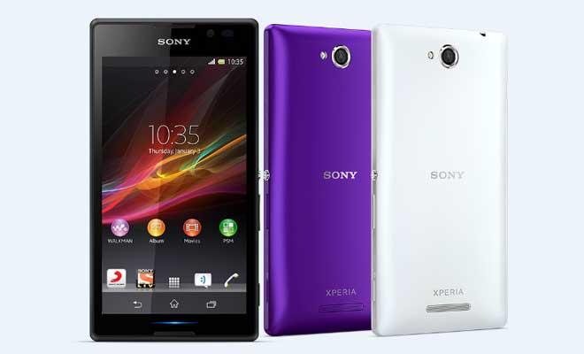 Inilah Harga dan Spesifikasi Sony Xperia C