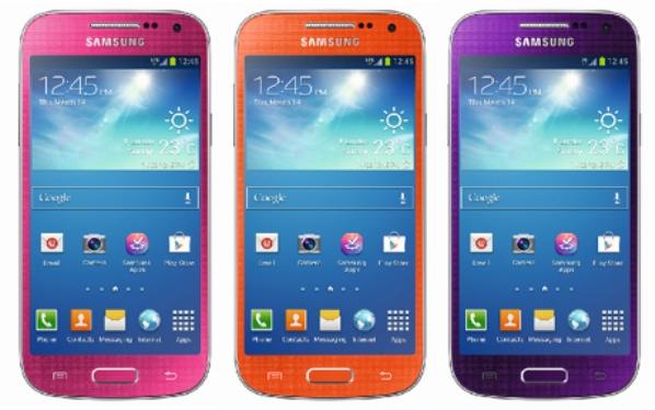 Samsung Galaxy S4 Mini dengan Warna Baru Resmi Dirilis