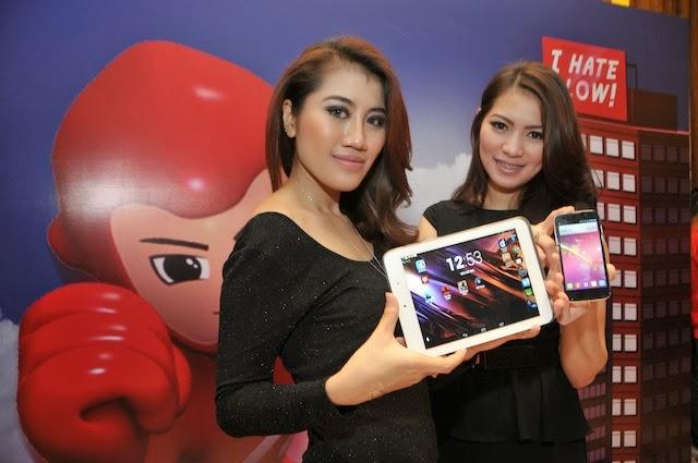 Spesikasi Smartfren Andromax Tab 8 Tidak Kalah Dengan Samsung Galaxy Tab 3