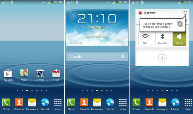 Update Android Galaxy S III