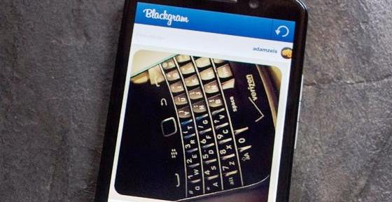 BlackGram, Aplikasi Instagram untuk BlackBerry 10