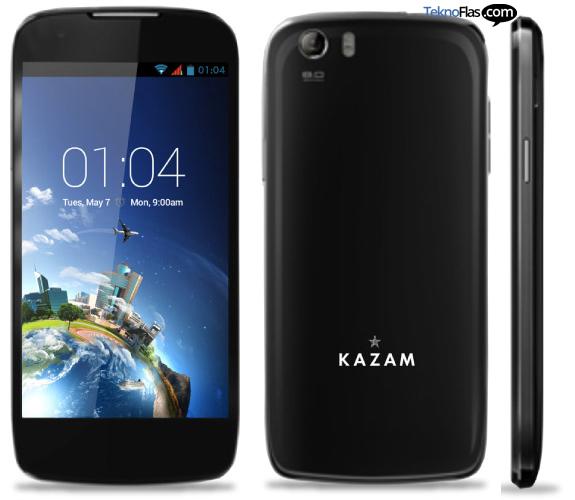 Inilah Spesifikasi KAZAM Thunder Q4.5, Smartphone Dual SIM OS Android 4.2 Jelly Bean