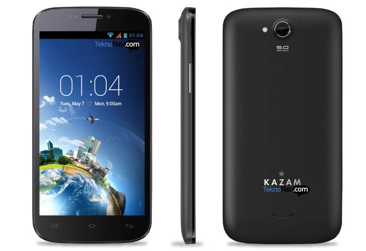 Inilah Spesifikasi Kazam Trooper X5.5 dengan OS Android 4.2 Jelly Bean