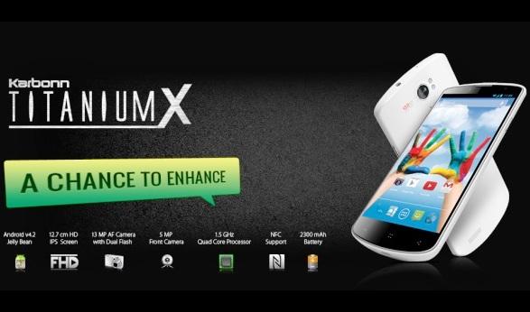 Karbonn Perkenalkan Smartphone Terbarunya Bernama Titanium X