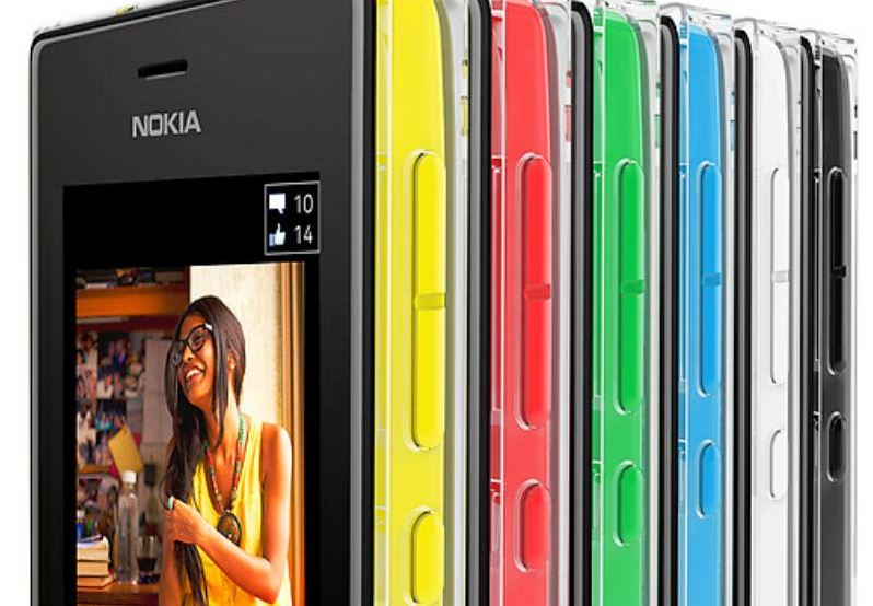 Nokia asha 502 green
