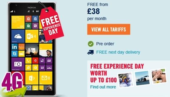 Pre-order Phablet Nokia Lumia 1520 Mulai 6 Desember di Inggris